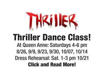 thriller dance experience