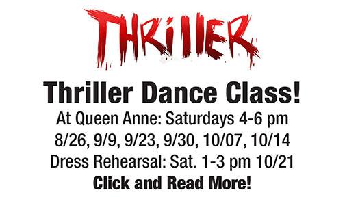 thriller dance experience
