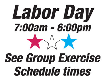 labor day hours and schedule notice