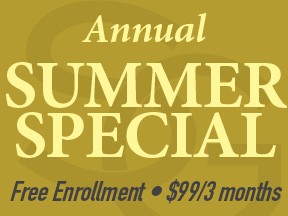 $99 3 month summer special