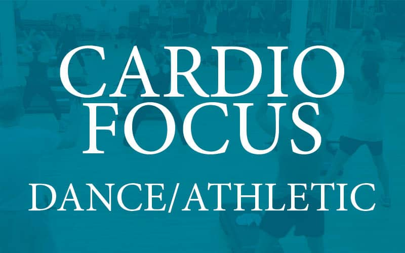 cardio focus dance and athletic box